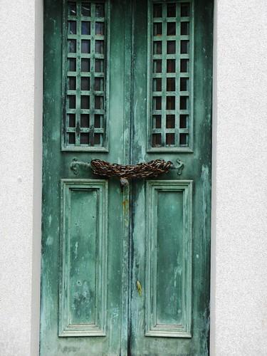 Green-Wood Door