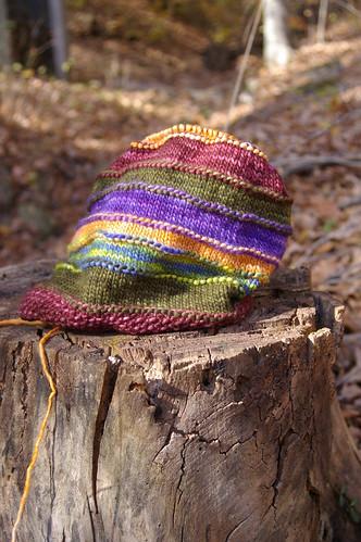 the stripy blub hat