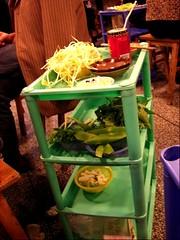 Hotpot - veggie tray