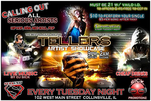 Tellers Tuesdays