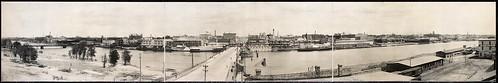 Saginaw Michigan Waterfront, c1912
