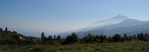Mt Athos Panorama