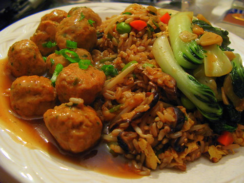 Chinese Turkey Meatballs by you.