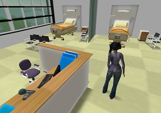 Second Life: National Health Service (UK):