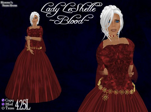 Lady LeShelle - Blood - Ad