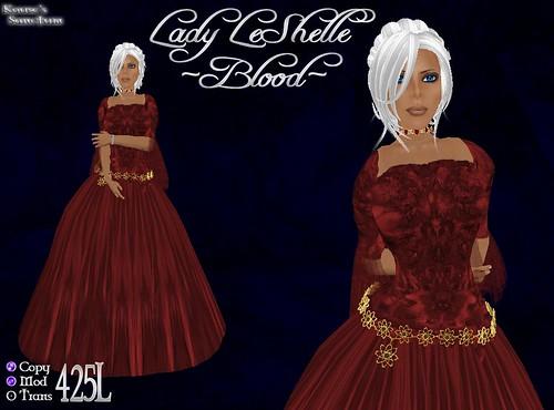 Lady LeShelle - Blood - Ad