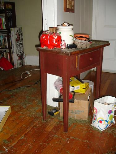 displaced furniture