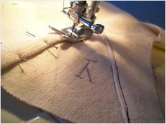 late 1820s corset - mock up 02
