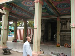 Entrance Mandapam - Thiruaavinankudi