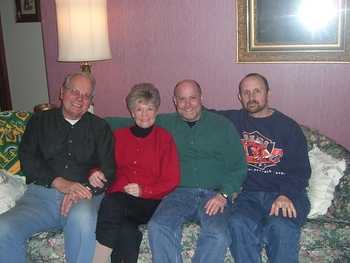 Terry, Vi, me, Mike