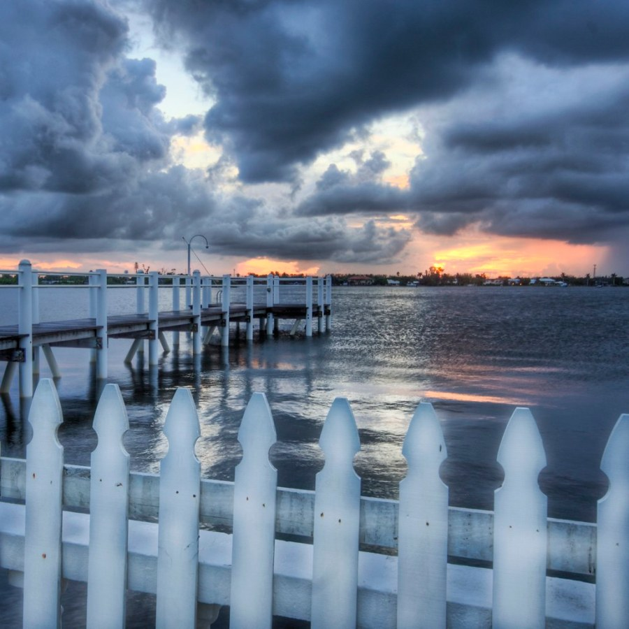 The Worn Picket Fence