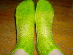 Something's Shady Socks - Dyed