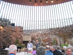 concert in Temppeliaukio Church