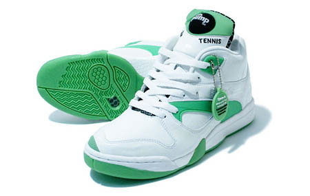 reebok court victory pump - glow in the dark