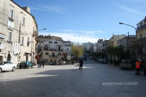 Ischitella's main square