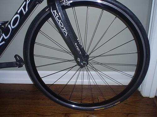 Mike Garcia built front wheel