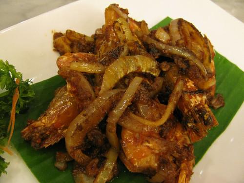 Sambal Shrimp at Malacca
