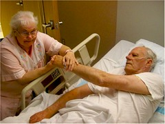 Mom and Dad Hospital Reunion