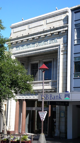 TSB building New Plymouth