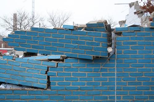 New City Y rubble