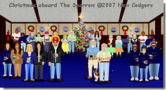 Christmas aboard The Sparrow ©2007 New Codgers