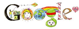 Logo google niños