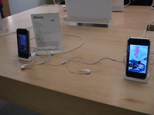Dual Hatsune Miku on iPhones