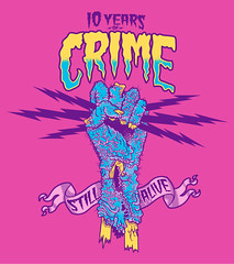 CRIME alive - 10 years of chaos