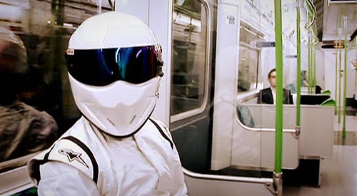 Top Gear Season 10 preview: The Stig on train