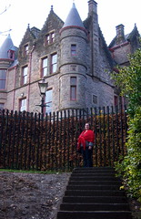 Dominica Miller Standing in Front of Belfast Castle
