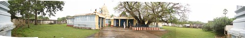 Panaromic view - Front view of the temple
