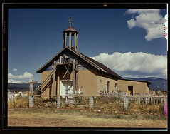 Llano de San Juan, New Mexico, Catholic Church...
