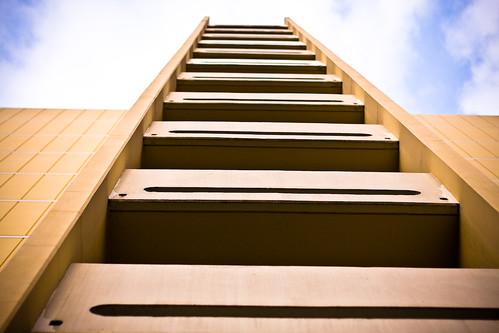 Ladder for Godzilla