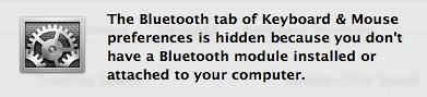 OS X Bluetooth missing