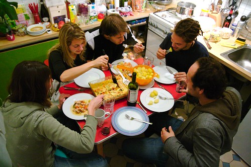 Friday Night Dinner Party by Flickr user Angelo