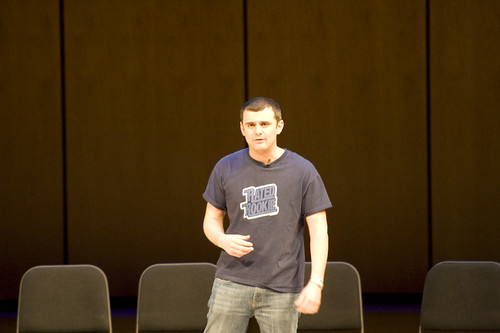 Gary Vaynerchuk of Wine Library TV talking at the Future of Web Apps