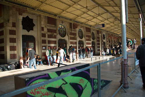 Sirkeci railway station, Local Heros event