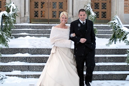 Cortney and Johnny Sauter Wedding Pictures-LeavingChurch