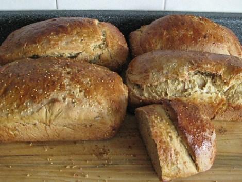 5... um... 4 1/2 loaves