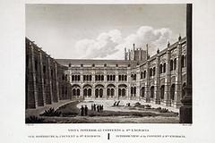 Claustro de Santa Engracia antes de Los Sitios