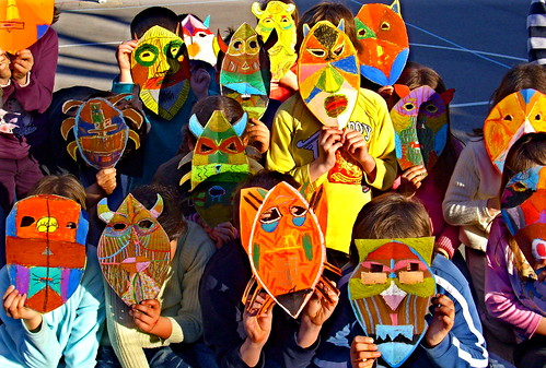 Carnaval masks by hannah**.