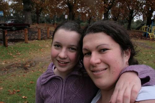 Britt and I
