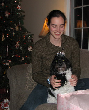 Jess & Miette Christmas 2008