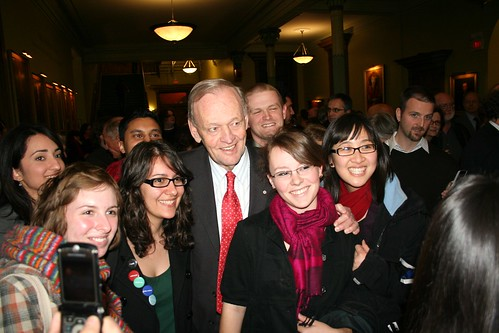 Chrétien Gets All the Girls at Vic by Joe Howell.