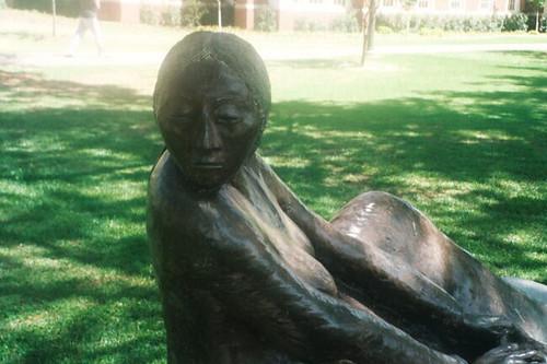 Sculpture on Univ of Oklahoma Campus