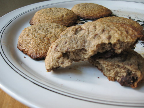 chai cookies with chocolate chips