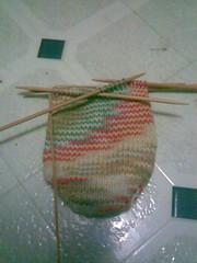 Start of Sock 1
