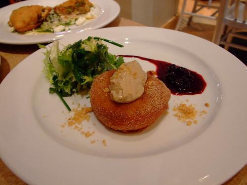 foie gras donut