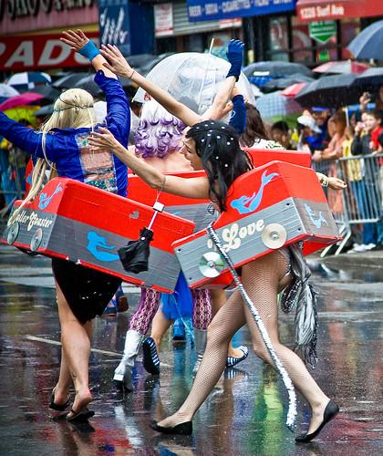 Coney Island Mermaid Parade 2009.  Photo © Barry Yanowitz via flickr