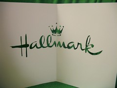 carved hallmark card